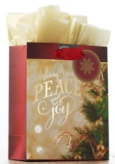 Peace and Joy Small Gift Bag
