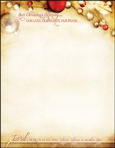 Our Christmas Offering, Letterhead, 100