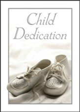 Child Dedication Certificates (Psalm 127:3, NIV) Package of 6