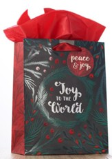 Joy To The World Medium Gift Bag