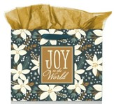 Joy to the World Large Landscape Gift Bag