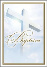 Baptism Certificates (Acts 16:31) Package of 6