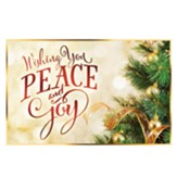 Peace and Joy Pass around Card-25 pack