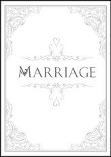Marriage Folded Certificates (1 Peter 1:22, NIV) Package of 6