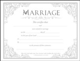 Marriage Certificates (1 Thessalonians 3:12, NIV) Package of 6