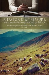 Pastor Is a Treasure (Psalm 40:5) Bulletins, 100