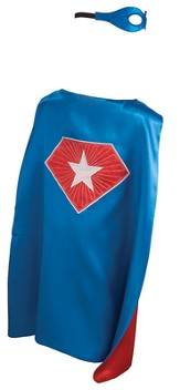 Super Star Set, with Cape and Mask