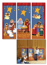 Kids' Christmas X-Stand Banners, Set of 3