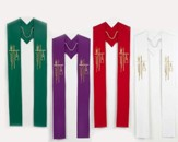 Alpha Omega Seasonal Stoles, Set of 4
