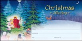 Christmas Story Offering Envelopes, 100