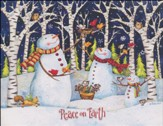 Peace On Earth Snowman, Boxed Christmas Cards, 18