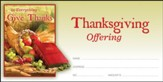 In Everything Give Thanks (1 Thessalonians 5:18) Offering Envelopes, 100