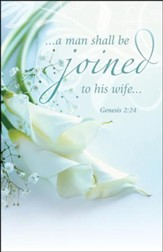 Joined to His Wife (Genesis 2:24) Bulletins, 100