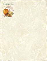 Singing to God with Gratitude Letterhead, 100