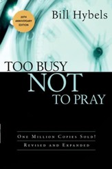 Too Busy Not to Pray - eBook