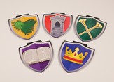 Mighty Fortress VBS: Shield Decor (Pack of 25)