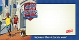 Mighty Fortress VBS: Mighty Fortress Indoor/Outdoor Banner (8'x 4')