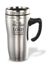 Those Who Hope in the Lord (Isaiah 40:31), Travel Mug