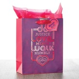 Do Justice Love Mercy Giftbag, Medium