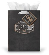 Be Strong & Courageous Giftbag, Medium