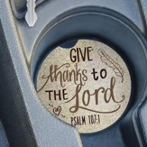 Give Thanks To The Lord, Car Coaster