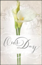 Our Day Wedding Bulletins, 100