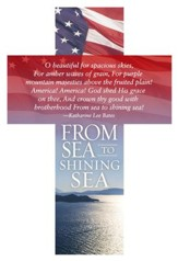 From Sea To Shining Sea Cross Design Bookmarks, 25