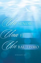 Un Senor, Una Fe, Un Bautismo Boletines (One Lord, One Faith, One Baptism Bulletins), 100