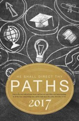 He Shall Direct Thy Paths - 2017 (Proverbs 3:5-6, KJV) Graduation Bulletins, 100