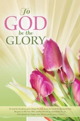 To God Be The Glory Easter Bulletins, 100