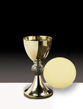 Loaves & Fish Chalice with Paten