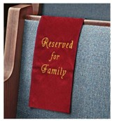 Embroidered Jacquard Family Reserve Cloth, Burgundy, Set of 4