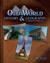 Abeka Old World History & Geography  in Christian Perspective