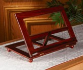 Adjustable Wood Bible Stand, Walnut Finish