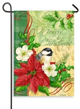 Christmas Chickadee, Small Flag