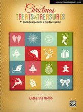 Christmas Treats & Treasures, Book 2, 11 Piano Arrangements of Holiday Favorites