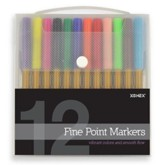 Thin Markers - 12 Piece Set