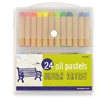 Oil Pastels - 24 Piece Set