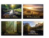 Screen Reflection's (KJV) Box of 12 All Occasion Cards