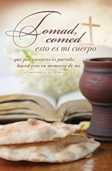Tomad, Comed (1 Corintios 11:24, RVR) Spanish Bulletins, 100