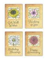 Artistic Blessings (NIV) Box of 12 All Occasion Cards