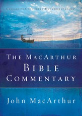 The MacArthur Bible Commentary - eBook