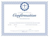 Confirmation (Ephesians 2:8, NIV) Foil Embossed Certificates, Pack of 6