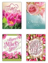 Happy Mother's Day (KJV) Box of 12 Mother's Day Cards