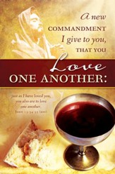 Love One Another (John 13:34-35, ESV) Bulletins, 100