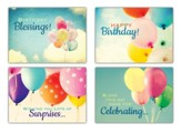 Up and Away Birthday Cards (NIV)