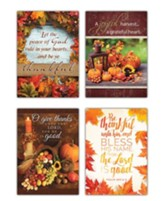 A Thankful Heart (KJV) Box of 12 Thanksgiving Cards