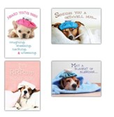 It's Rruff Being Sick (NIV) Box of 12 Get Well Cards