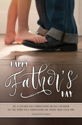 Happy Father's Day (Psalm 103:13, NIV) Bulletins, 100