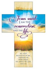 I Am the Resurrection (John 11:25, KJV) Cross Bookmarks, 25